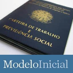 Modelo de Petição Contestação Trabalhista - Atualizada pela Reforma - Ocorrência de justa causa - Trabalhista